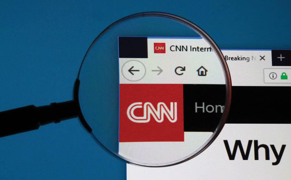 "CNN's neue ""Reporterin"" Natasha Bertrand"